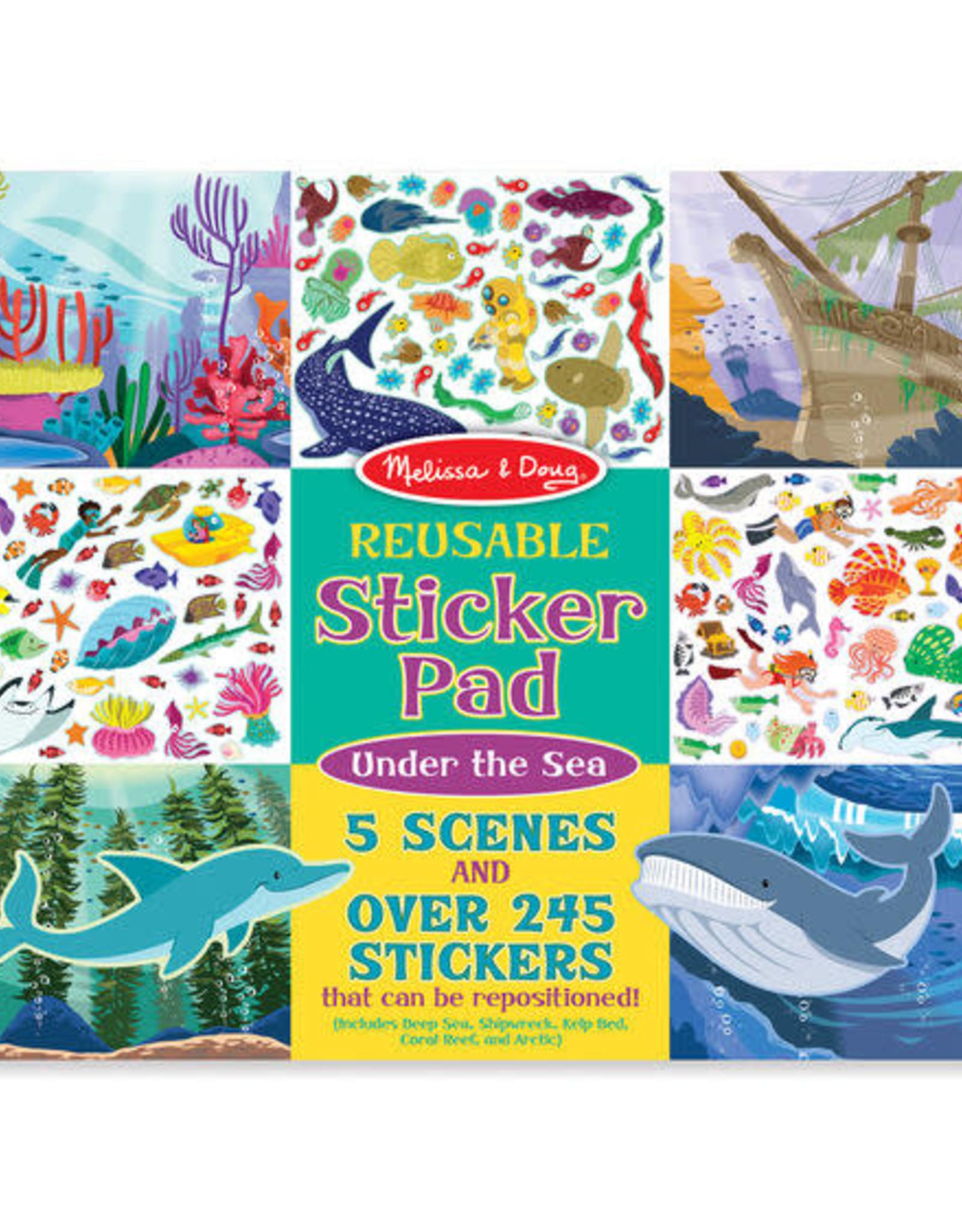 Melissa & Doug Melissa & Doug Reusable Sticker Pad - Under the Sea