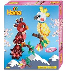 Hama Hama Beads Parrots - 2500 beads