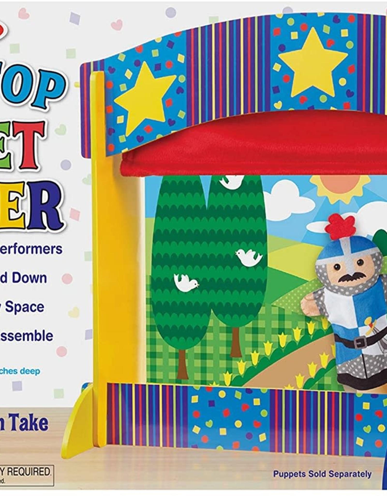Melissa & Doug Melissa & Doug Tabletop Puppet Theatre