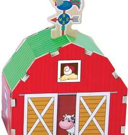 Fat Brain Toy Co. Build It: Blueprints - Barn