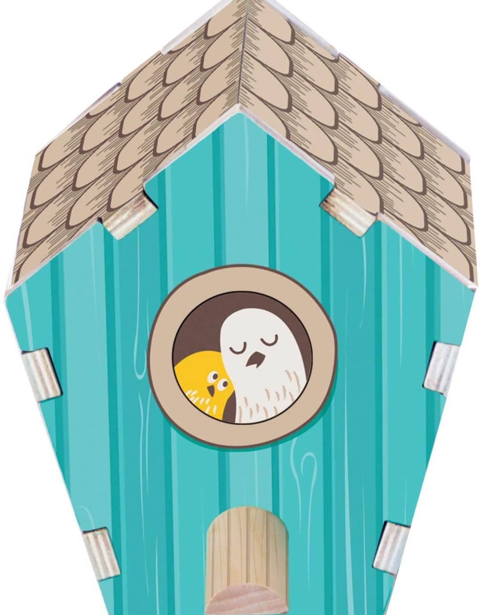 Fat Brain Toy Co. Build It: Blueprints - Bird House