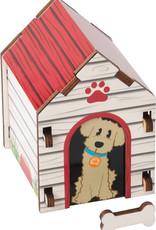Fat Brain Toy Co. Build It: Blueprints - Dog House