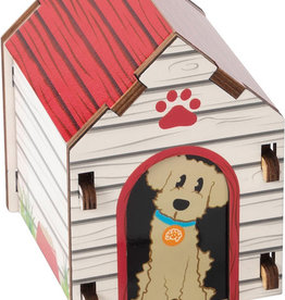 Fat Brain Toy Co. Build It: Blueprints - Dog House