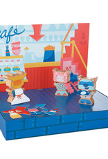 MindWare Silly Street Character Builders Play Set