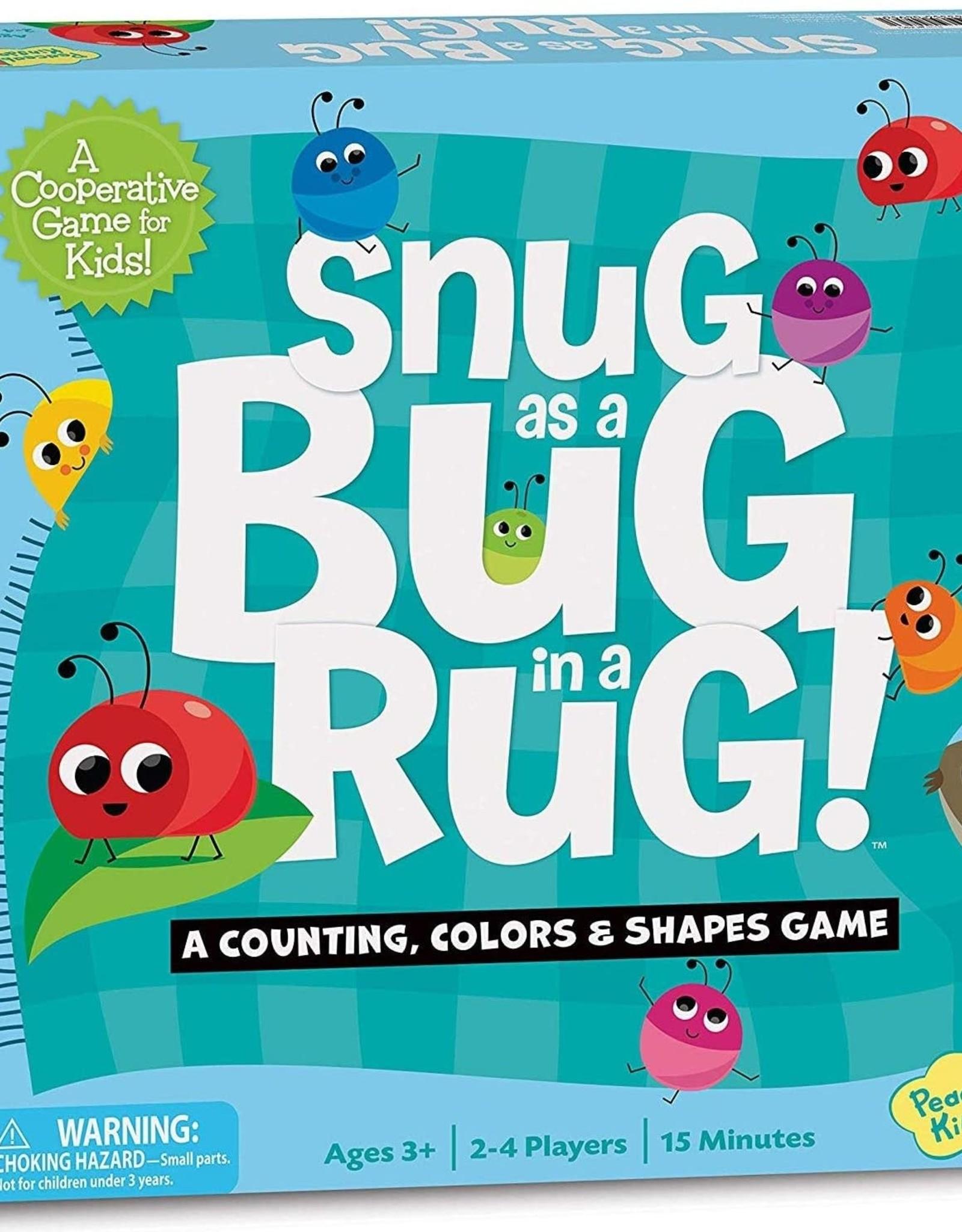 Peaceable Kingdom Snug as a Bug in a Rug Game