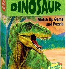 Peaceable Kingdom Dinosaur Match Up Memory Game