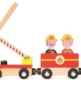 Janod Story Train - Firefighters