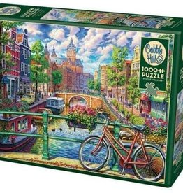 Cobble Hill Puzzles Amsterdam Canal - 1000 pc