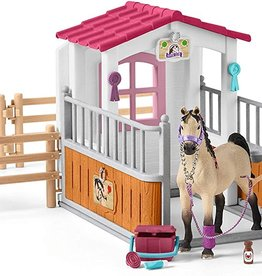 Schleich Schleich Horse Club - Stall with Arab Horses & Groom