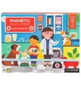 Petit Collage Magnetic Play Scene - Pet Hospital