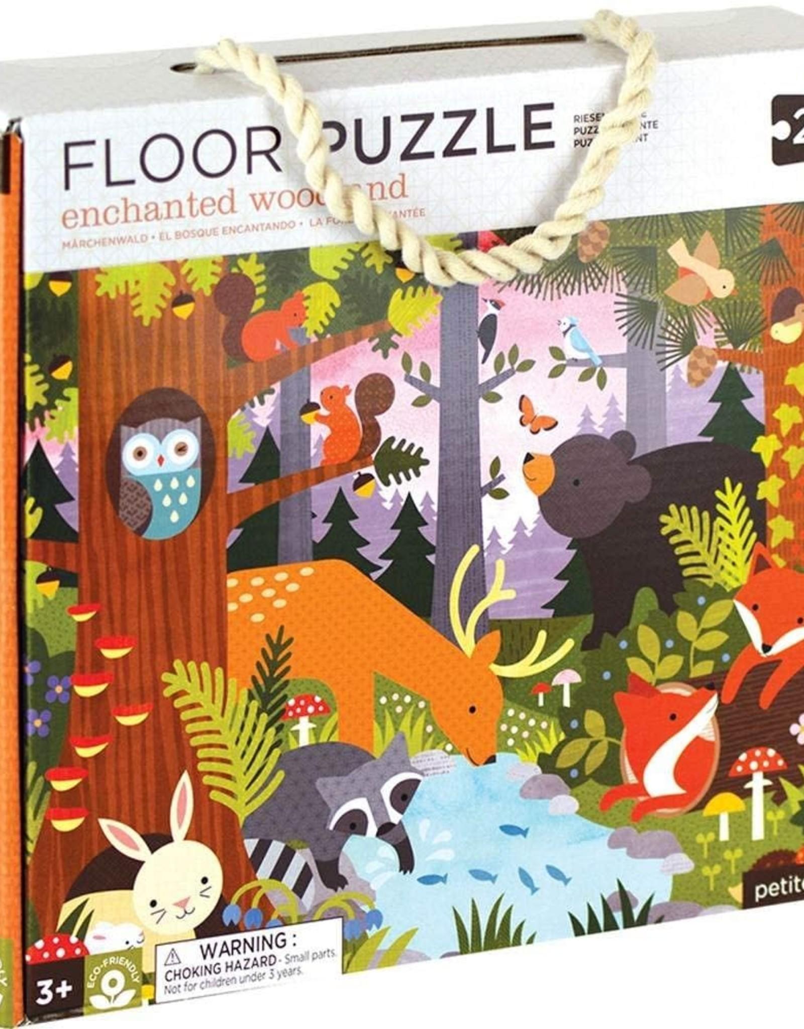 Petit Collage Enchanted Woodland Floor Puzzle - 24pc