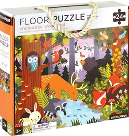 Petit Collage Enchanted Woodland Floor Puzzle - 24pc
