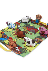 Melissa & Doug Melissa & Doug Take-Along Farm Play Mat