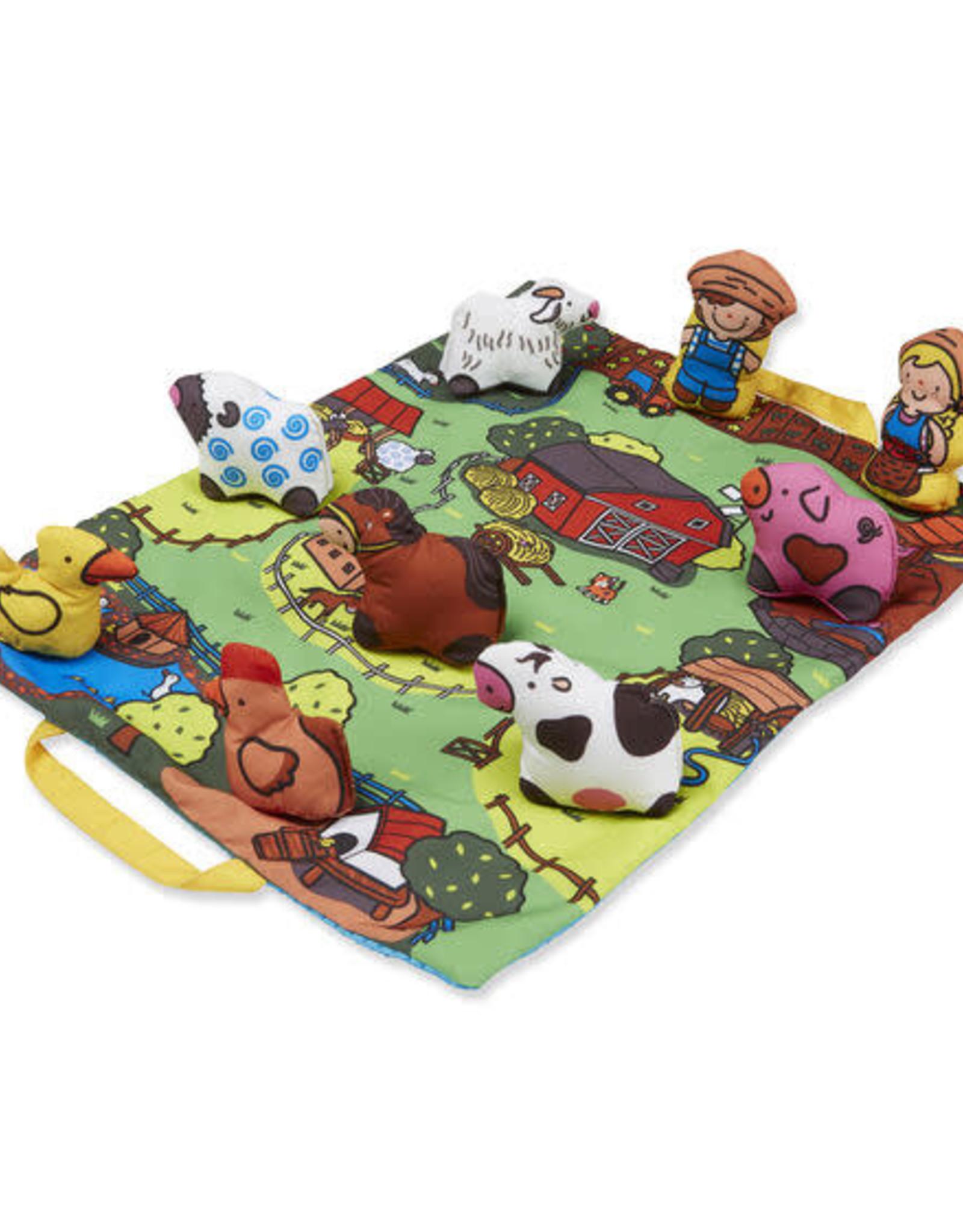 Melissa & Doug Melissa & Doug Take-Along Farm Play Mat
