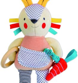 Petit Collage Organic Activity Toy Bunny