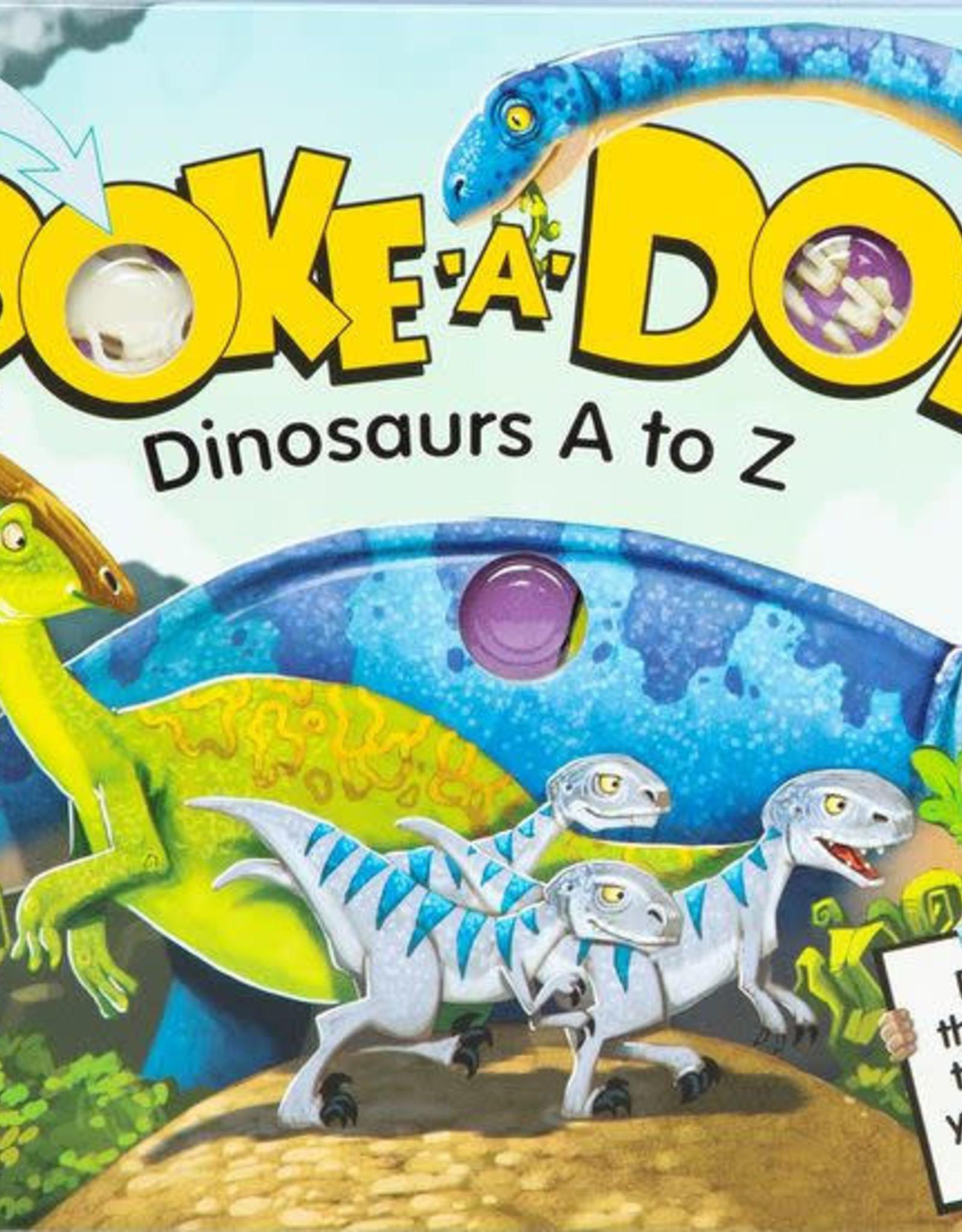Melissa & Doug Melissa & Doug Poke-A-Dot - Dinosaur A - Z