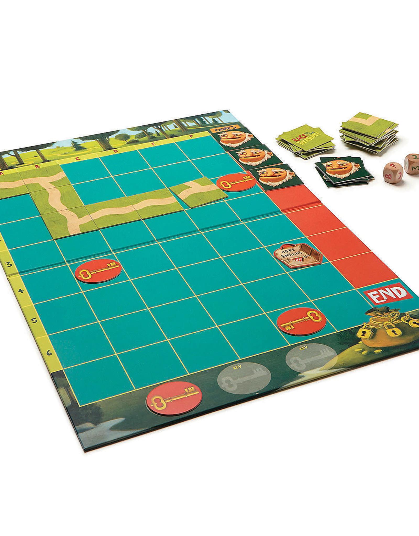 Peaceable Kingdom Peaceable Kingdom Race to the Treasure! Board Game