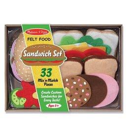 Melissa & Doug Melissa & Doug Felt Food Sandwich Set