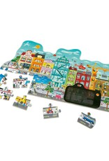 Hape Toys Animated City Puzzle 50pcs