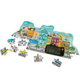 Hape Toys Animated City Puzzle 50pcs