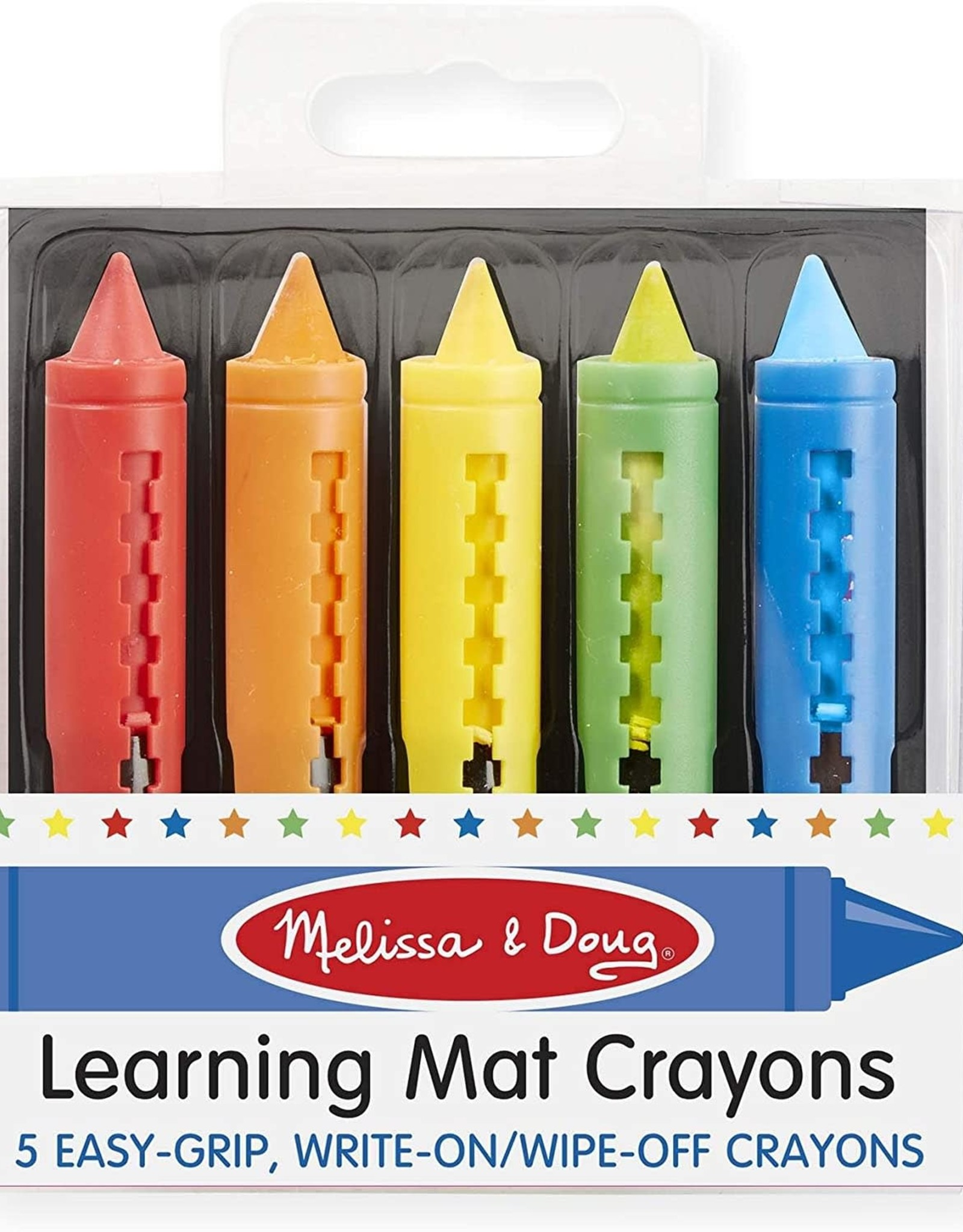 Melissa & Doug Melissa & Doug Learning Mat Crayons