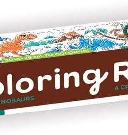 Mudpuppy Mini Coloring Roll - Mighty Dinosaurs