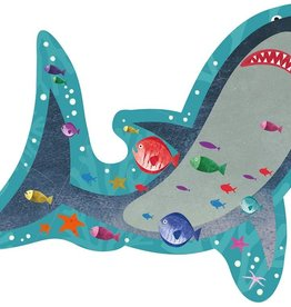 Floss & Rock 12 pc Shark Shaped Puzzle