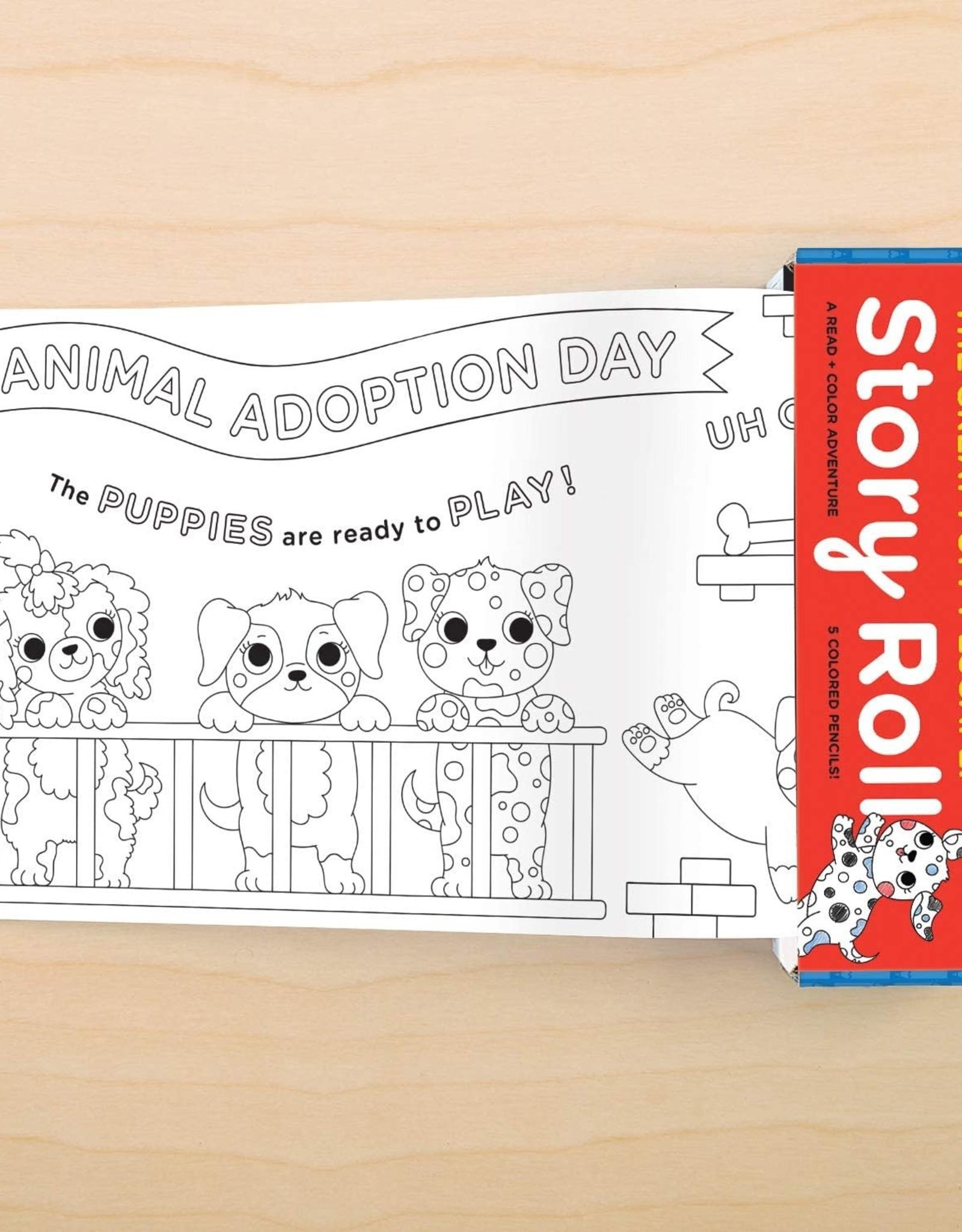 Mudpuppy Story Roll - Great Puppy Escape