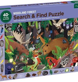 Mudpuppy Search & Find Puzzle - Woodland