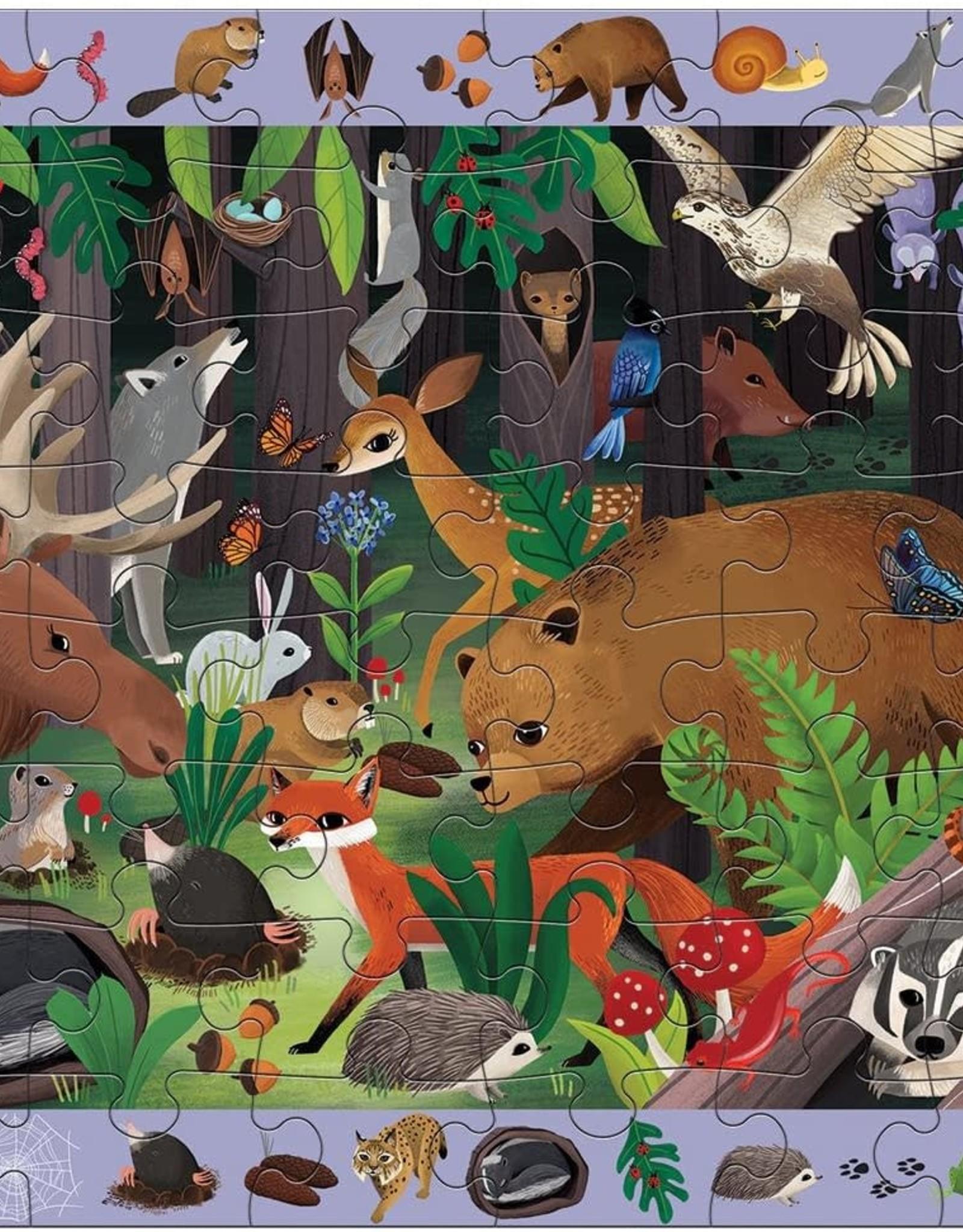 Mudpuppy Search & Find Puzzle - Woodland
