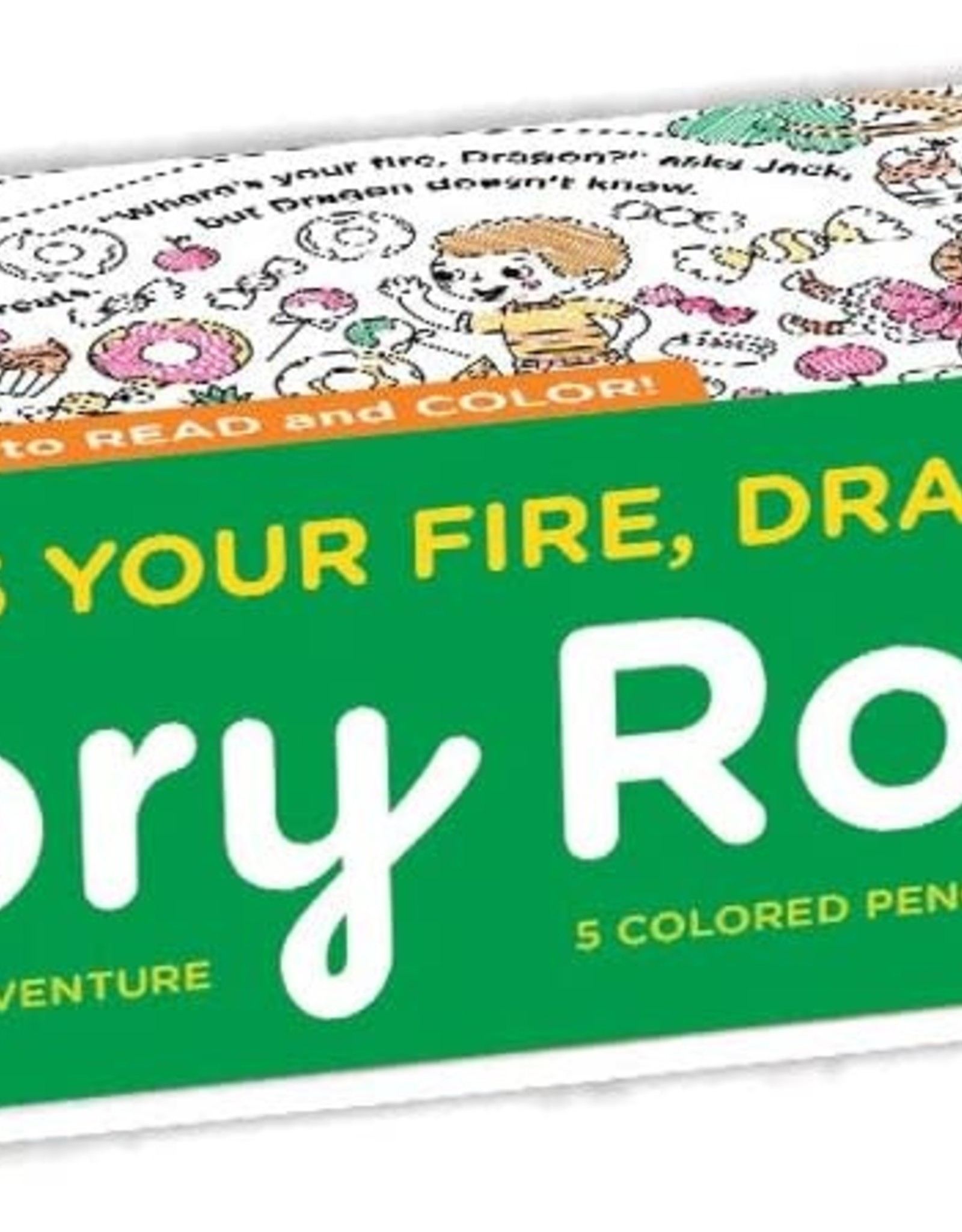 Mudpuppy Story Roll - Where's Your Fire, Dragon?