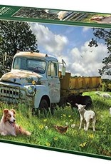 Cobble Hill Puzzles Sheep Field - 1000 pc