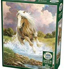 Cobble Hill Puzzles River Horse - 1000 pc Puzzle
