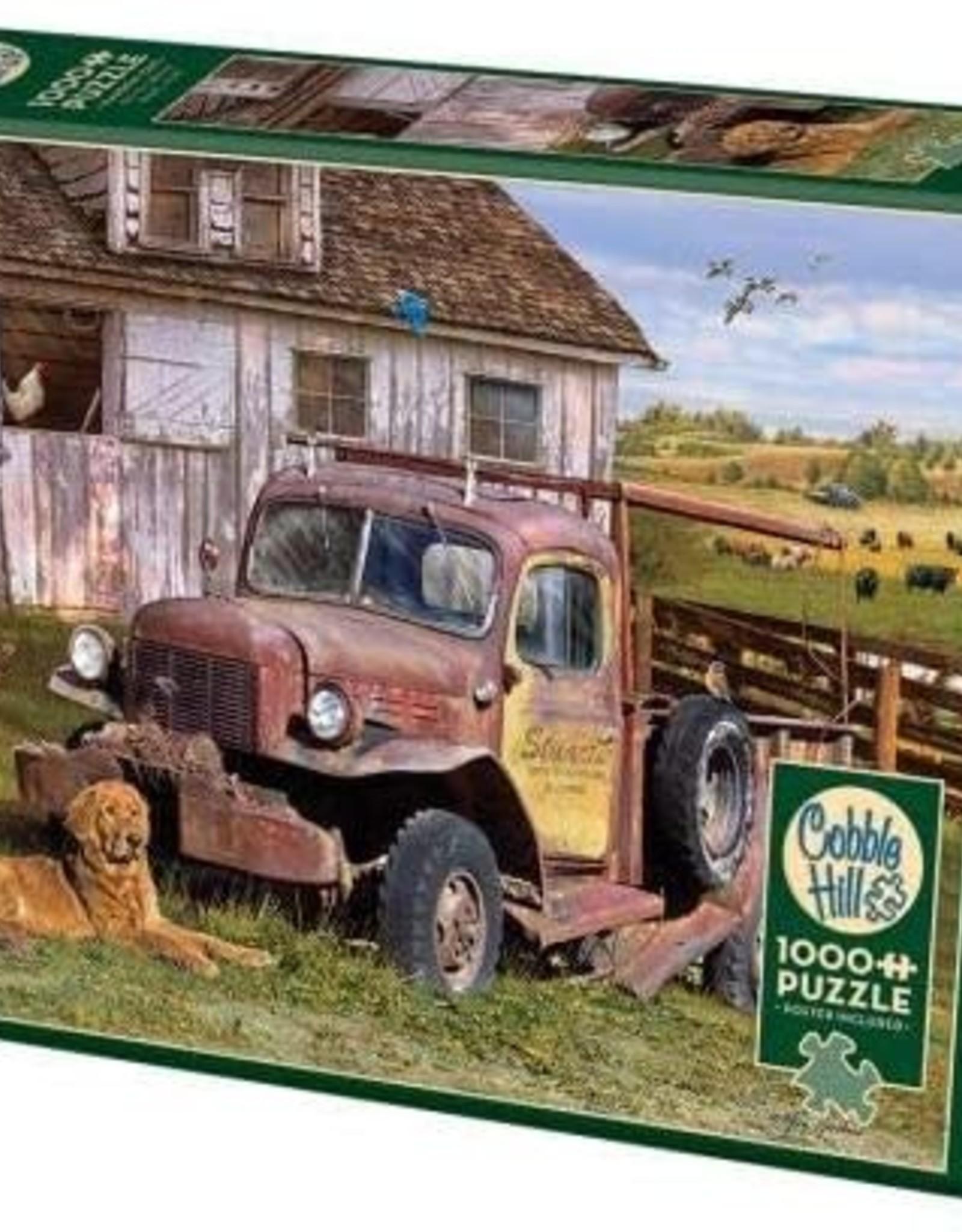Cobble Hill Puzzles Summer Truck - 1000 pc Puzzle