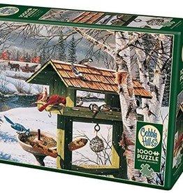 Cobble Hill Puzzles Backyard Banquet - 1000 pc Puzzle