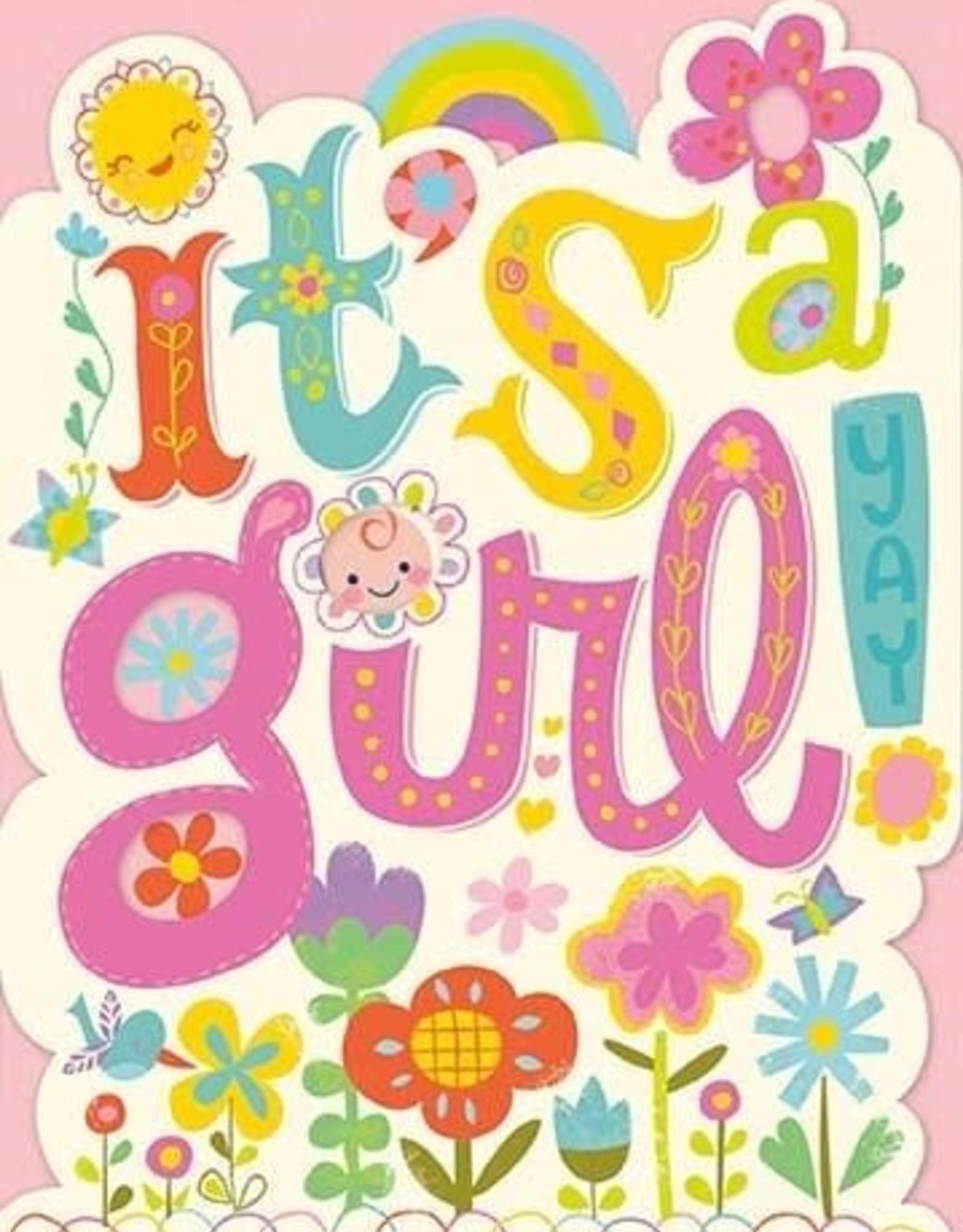 Peaceable Kingdom It's a Girl! Card