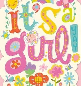 Peaceable Kingdom It's a Girl! Card