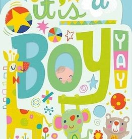 Peaceable Kingdom It's a Boy! Card