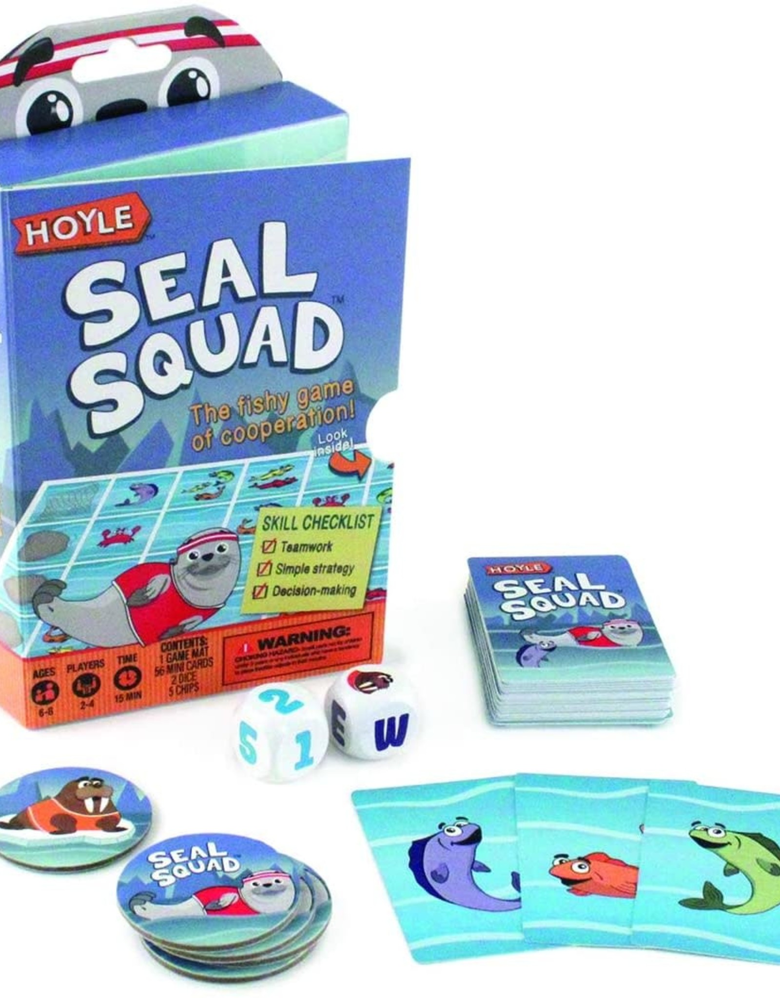 Hoyle Seal Squad Card Game