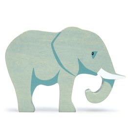Tender Leaf Toys Tender Lead Wooden Elephant