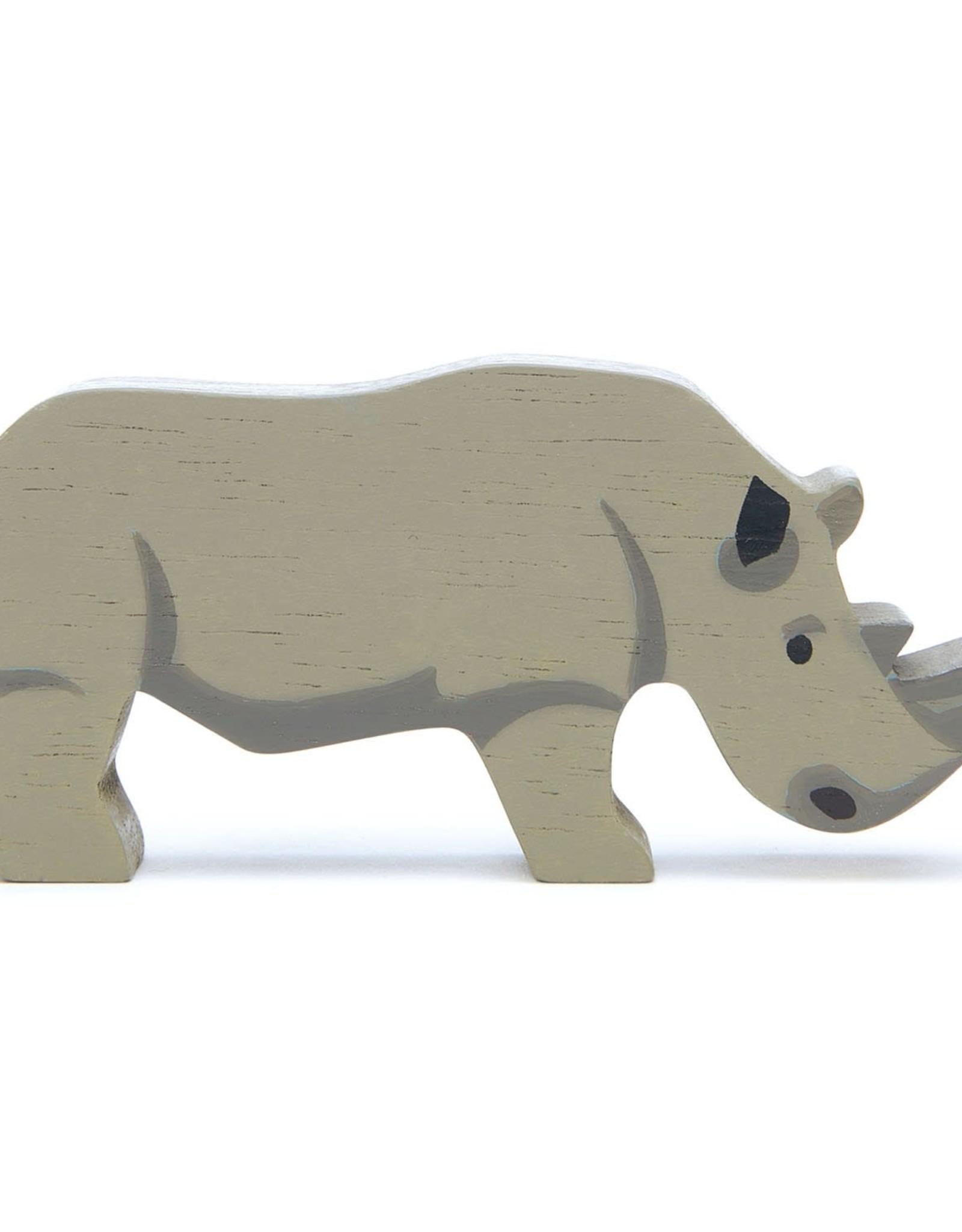 Tender Leaf Toys Tender Leaf Wooden Rhinoceros
