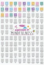 100 Mindfulness Activities Scratch Poster