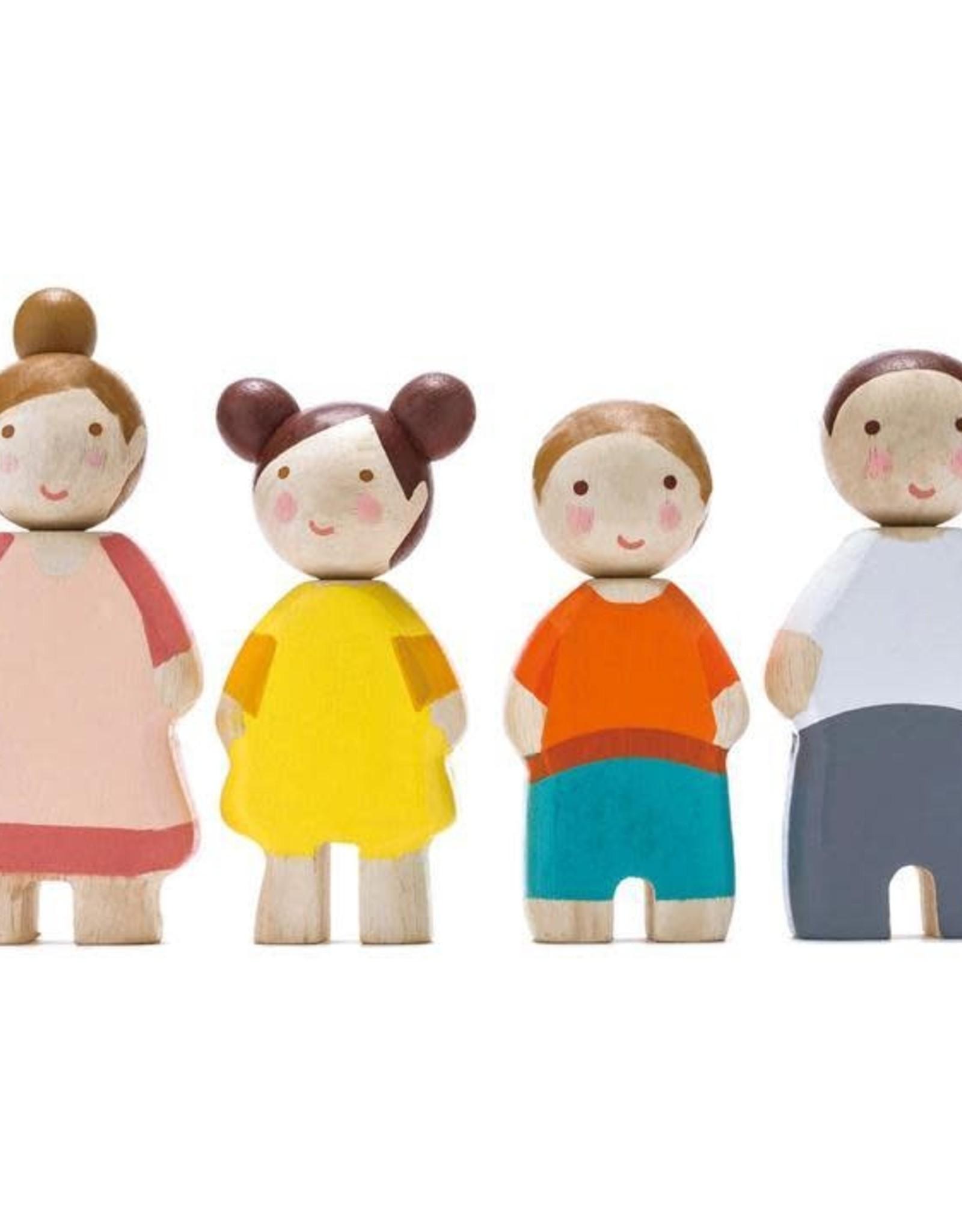 Tender Leaf Toys The Leaf Family Wooden Dolls