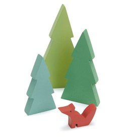 Tender Leaf Toys Tender Leaf Wooden Fir Top Trees