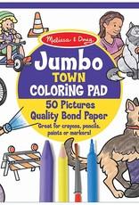 Melissa & Doug Melissa & Doug Jumbo Colouring Pad - Town