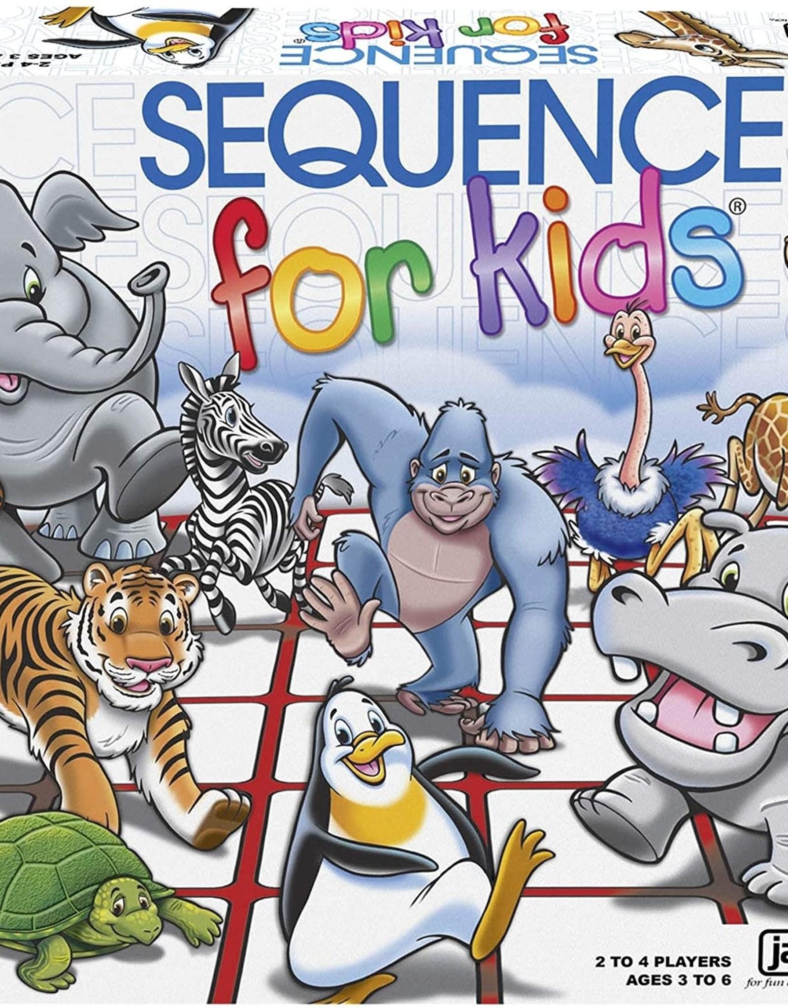 Pressman Toys Sequence for Kids