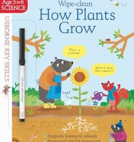 Usborne Usborne Wipe Clean How Do Plants Grow?