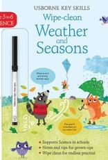 Usborne Usborne Wipe Clean Weather & Seasons