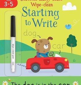 Usborne Usborne Starting to Write