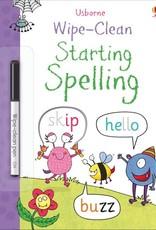 Usborne Usborne Wipe Clean Starting Spelling